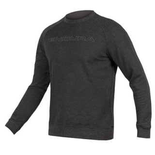 Mikina Endura One Clan Crew Neck Sweat, šedá
